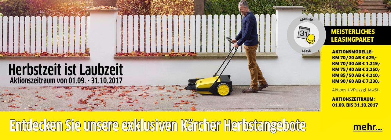Herbsangebote Kärcher Center Cotraco