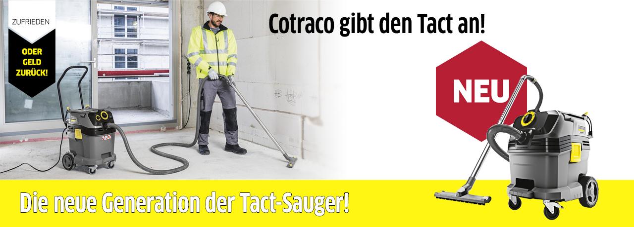 Die neue Generation der Tact-Sauger