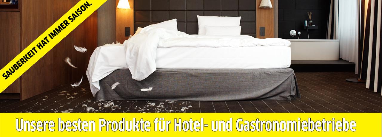 Kärcher Produkte für Hotelbetriebe